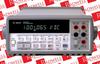 MULTIMETER, DIGITAL, BENCH, 6-1/2 DIGIT DMM TYPE:BENCH VOLTAGE MEASURING RANGE DC:100MV TO 1000V VOLTAGE MEASURING RANGE AC:100MV TO 750V CURRENT -- 34401A