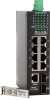 10 Port 10/100/1000 Gigabit Fiber Optic Switch -- SF71060M - Image