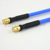 SMP Female to SMP Female Cable FM-F086 Coax in 60 Inch and RoHS with LF Solder -- FMC2222085LF-60 -Image