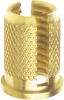 Knurled Expansion Inserts for Plastic (Headed) -- Series 16 - Image