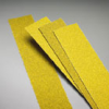 Stick-On - Carbo Gold Aluminum Oxide Paper Open -- File Strips