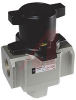 Lock Out Valve, residual pressure relief, three 1/4 NPT ports, PSI name plate -- 70070480 - Image