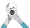 Excelta Three Star Cable / Tubing Cutter Shear Steel Shear Cutting Plier 51I-6 - 6 in Length - Foam Cushion Grip -- EXCELTA 51I-6