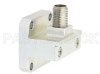 WR-42 Square Type Flange to 2.92mm Female Waveguide to Coax Adapter Operating from 18 GHz to 26.5 GHz -- PE9812