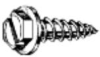"WASHER HEX SLOTTED TAPPING SCREW 6 X 3/8"" -- IBI515734"