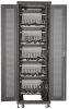 Mass Storage Cabinet - 60 Chromebook/Laptop Cable Management -- MSC-60-CCN -- View Larger Image