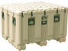 Pelican IS4537-2303 Inter-Stacking Pattern Case with Foam - Tan -- PEL-IS453723038000110 -Image