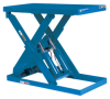Single Scissors (P) Series Lift Tables -- PEW-4072