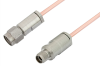 3.5mm Male to 3.5mm Female Cable 24 Inch Length Using RG405 Coax -- PE34582-24