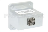 WR-112 Square Type Flange to End Launch SMA Female Waveguide to Coax Adapter Operating from 7.05 GHz to 10 GHz -- PE9865 - Image