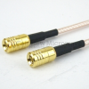 SMB Plug to SMB Plug Cable RG316 Coax in 48 Inch -- FMC1616315-48 -- View Larger Image