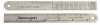 Gesswein Stainless Steel Ruler -- 811-1710