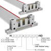 Rectangular Cable Assemblies -- H3WWH-1606G-ND -Image