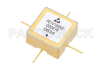 Surface Mount (SMT) Voltage Controlled Oscillator (VCO) 25 MHz to 50 MHz, Phase Noise of -134 dBc/Hz, 0.5 inch Hi-REL Hermetic -- PE1V13002 - Image