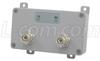 100 mW 2.4 GHz 802.11g Indoor WiFi Amplifier, RP-TNC Connectors -- HA2401RTGI-100