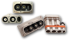 Rectangular, Metal, Press Fit, Environmental, Power Connector -- E-Power