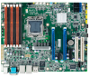 LGA 1356 Intel® E5-2400 Xeon® ATX Server Motherboard with DDR3, 2 PCIe , 3LAN -- ASMB-820I-00A1E