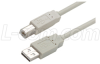 Premium USB Cable Type A - B Cable, 0.5m -- CSMUAB-05M - Image