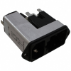 Power Entry Connectors - Inlets, Outlets, Modules -- 486-2236-ND -Image