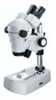 Binocular stereozoom microscopes; magnification from 10x to 40x; standard stand type; top and bottom illuminator; 115V -- EW-48920-00 - Image