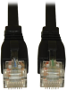 Augmented Cat6 (Cat6a) Snagless 10G Certified Patch Cable, (RJ45 M/M) - Black, 10-ft. -- N261-010-BK - Image
