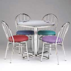 PHOENIX Chrome Cafeteria Tables -- 4074600