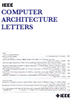 Computer Architecture Letters -- 1556-6056