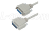 Deluxe Molded D-Sub Cable, DB15 Male / Female, 5 ft -- CSMN15MF-5
