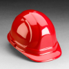 3M(TM) Omega II(TM) Hard Hat 1905, Red, Standard Suspension -- 051131-52590