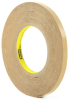 3M 950 Adhesive Transfer Tape 0.375 in x 60 yd Roll -- 950 3/8IN X 60YDS -Image