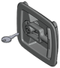 Flush T-Handle Compression latch -- 1130