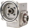 Worm Gear Reducers - Stainless Steel, Flange Input - Hollow Bore Output -- SSHdR262-20/1-H-56C-1.1516