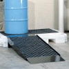 PIG Steel Loading Ramp With Non-Slip Poly Grate -- PAK603 -Image