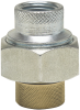 Lead Free Dielectric Unions - FIP Thread to Female Brass Pipe Thread Connections -- LF3003