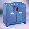 22 Gallon, 2 Shelf Poly Acid And Corrosive Cabinet -- 4424
