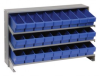 Bins & Systems - Super Tuff Euro Drawers (QED Series) - Sloped Shelving Systems - Bench Racks - QPRHA-501 - Image
