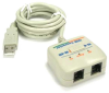 USB to RS422/485 Converter, RJ11 -- 1505-SF-16