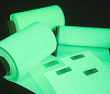 Glow in the Dark Tapes -- 3420 Glo Brite Safety Track Tape -- View Larger Image