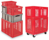 SCHAEFER Polyethylene Stacking Containers -- 4441828