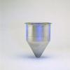 Stainless Steel Seamless Hopper Funnel, 0.2 Gal., 3.91