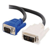 Cables to Go - VGA cable - DVI-A (M) - HD-15 (M) - 10 ft - b -- 26955