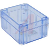 ENCLOSURE,TRANSPARENT BLUE POLYCARBONATE,NEMA,IEC52,IP65,4.53LX3.54WX2.17HIN -- 70147740