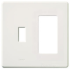Standard Wall Plate -- FG-2-TD-WH - Image