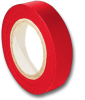 3M 35 Scotch Vinyl Electrical Tape, Red, 1/2