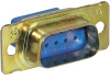 AMPLIMITE Series 109 Connector,Plug,9 pos.,Military PN M24308/4-259F -- 70041407