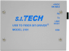 USB-Fiber Optic Media Converter -- Model 2181