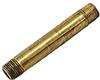 Brass Nipple 2 1/2 x 1/4 MPT -- VM-140713 - Image