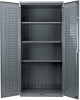 AkroBin® Cabinet w/ 3 Shelves -- AC36243AS - Image