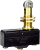 MICRO SWITCH BZ Series Premium Large Basic Switch, Single Pole Double Throw Circuitry, 15 A at 250 Vac, High Overtravel Roller Plunger Actuator, 2,5 N - 3,61 N [9 oz - 13 oz] Operating Force, Silver C -- BZ-2RQ18T -Image