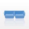 Tray, 2 Compartment, Blue -- 73079 -Image